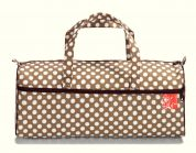 Prym Craft Storage Bag  Brown, White & Wine