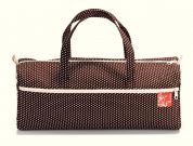 Prym Craft Storage Bag  White, Cream & Dark Brown