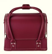 Prym Craft Storage Red Leather Look Bag