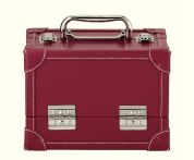 Prym Craft Storage Red Leather Look Medium Case