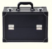 Prym Craft Storage Black Leather Look Large Case