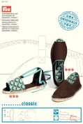 Prym Sewing Pattern & DVD for Espadrilles Classic