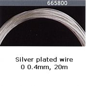 Gutermann Silver Plated Wire