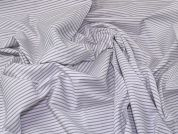 Lady McElroy Cotton Shirting Fabric  Grey