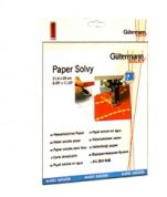 Gutermann Paper Solvy Machine Embroidery Water-soluble Film