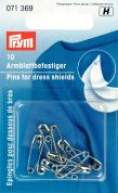 Prym Safety Pins for Dress Shields 19mm  Silver
