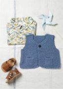 Erika Knight Gossypium Cotton Knitting Pattern Muffin  DK