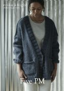 Erika Knight Ladies Five PM Cardigan Maxi Wool Knitting Pattern  Super Chunky