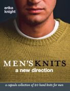 Erika Knight Mens Knit Knitting Book