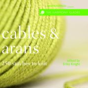 Erika Knight Harmony Cables & Arans Knitting Book