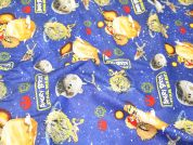 Camelot Fabrics Angry Birds Star Wars Space Battle Quilting Fabric