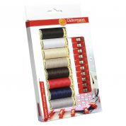 Gutermann Sew All Sewing Thread & Fabric Clips Gift Pack