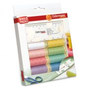Gutermann Sew All Thread Set with Seam Gauge
