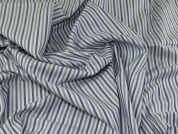 Lady McElroy Cotton Shirting Fabric  Blue & Green