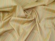 Lady McElroy Cotton Shirting Fabric  Peach
