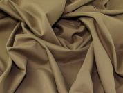 Lady McElroy Soft Touch Suiting Fabric  Conker Brown
