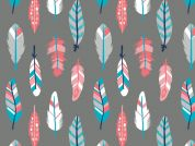 Camelot Fabrics What a Gem Feathers Quilting Fabric
