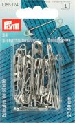 Prym Assorted Size Safety Pins  Silver