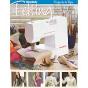 Simplicity Felting Craft Projects & Tips Book