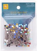 EZ Quilting Glass Head Pins