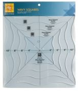 EZ Wavy Squares Acrylic Quilting Template