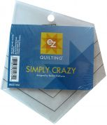 EZ Simply Crazy Acrylic Quilting Template