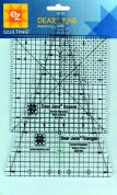 EZ Dear Jane Wedge & Square Acrylic Quilting Template
