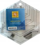 EZ Hexagon Shapes Acrylic Quilting Templates