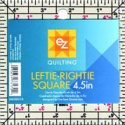 EZ Leftie Rightie Square Acrylic Quilting Template