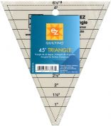 EZ 45 Degree Triangle Acrylic Quilting Template