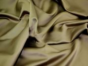 Plain Polyester Fabric  Taupe Brown
