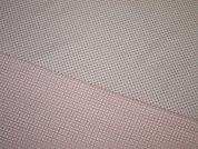 Lurex Woven Two Way Dress Fabric  Pink, White & Silver