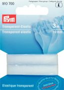10mm Prym Transparent Elastic 3m  Transparent