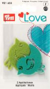 Prym Love Iron On Embroidered Motif Applique Bird