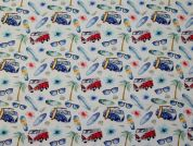 100% Cotton Fabric  Multicoloured