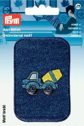 Prym Iron On Embroidered Motif Applique Cement Mixer