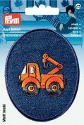Prym Iron On Embroidered Motif Applique Crane
