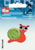 Prym Iron On Embroidered Motif Applique Felt Snail