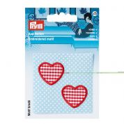 Prym Patch Motif Hearts