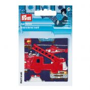 Prym Patch Motif Fire Engine