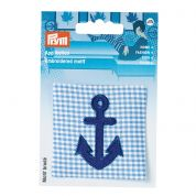 Prym Patch Motif Anchor  Blue