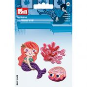 Prym Sticky Back Patch Motif Mermaid