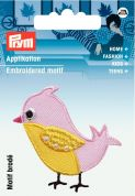 Prym Iron On Embroidered Motif Applique Bird