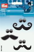 Prym Iron On Embroidered Motif Applique Beards