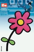 Prym Iron On Embroidered Motif Applique Large Flower