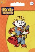 Prym Iron On Embroidered Motif Applique Bob the Builder With Toolbox