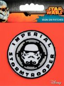 Prym Iron On Embroidered Star Wars Motif Imperial Stormtrooper