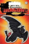 Prym Iron On Embroidered Motif Applique Dragons Toothless