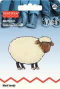 Prym Iron On Embroidered Motif Applique Sheep