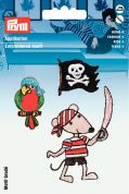 Prym Self Adhesive Embroidered Motif Applique Pirates